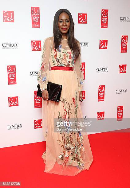 Amma Asante attends the Red Women of the year awards at The Skylon on October 17 2016 in London England
