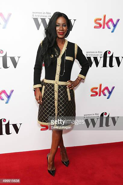 Amma Asante attends the Sky Women in Film and TV Awards at London Hilton on December 4 2015 in London England