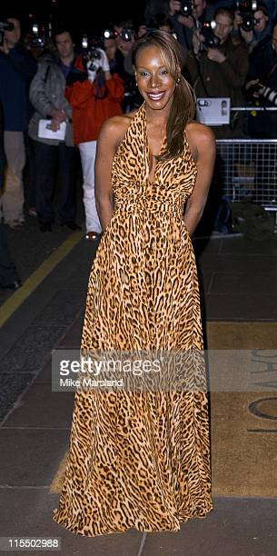 Amma Asante during The Evening Standard Film Awards 2005 at The Savoy Hotel in London Great Britain