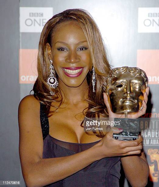Amma Asante winner of The Carl Foreman Award during BAFTA Film Awards 2005 Press Room at Odeon Leicester Square in London Great Britain