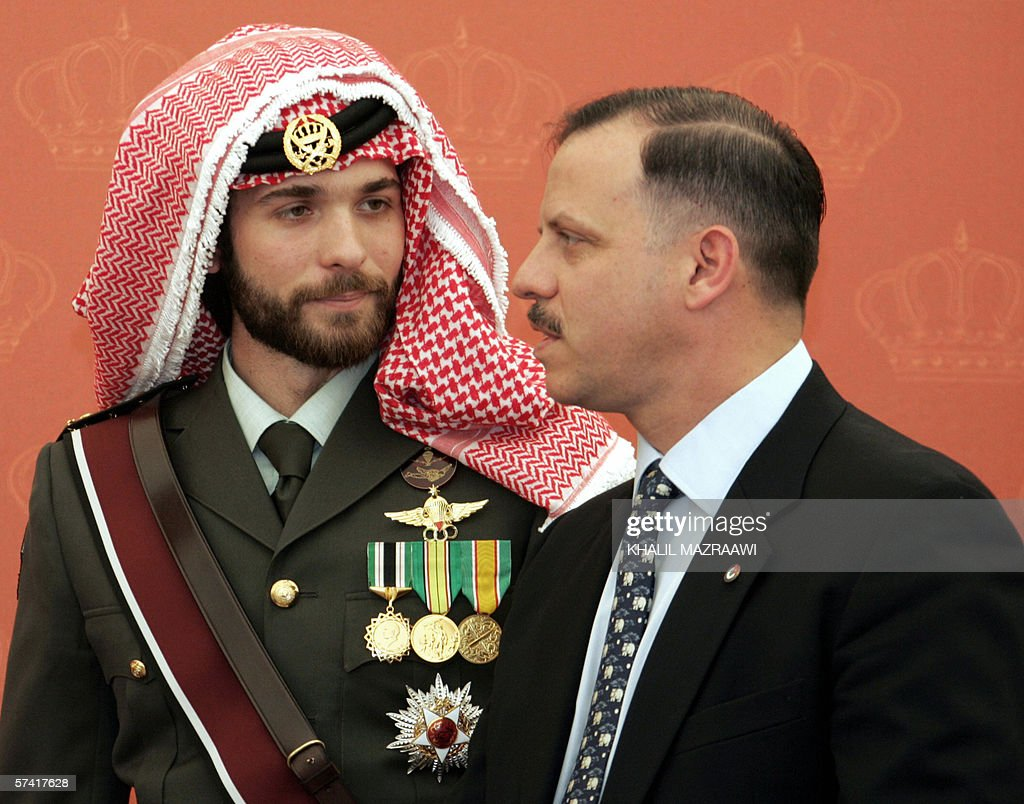 Sons Of Late King Hussein Of Jordan Prince Faisal And