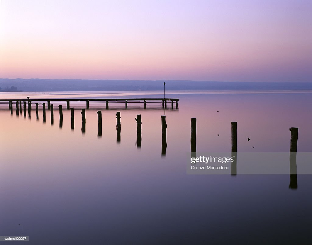 Ammersee, Bavaria, Germany : Stock Photo