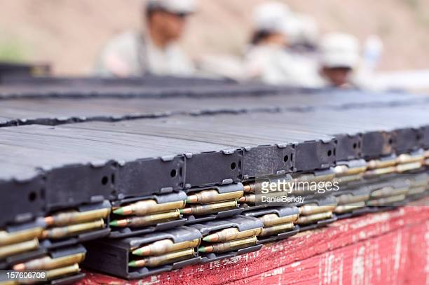 ammo in magazine - ammunition magazine stockfoto's en -beelden