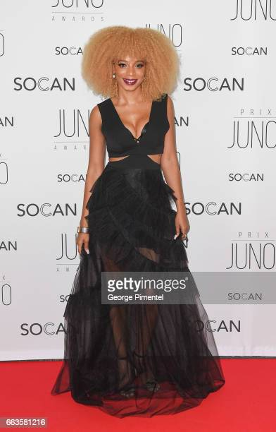 Ammoye attends the 2017 Juno Gala Dinner and Awards at Shaw Centre on April 1 2017 in Ottawa Canada