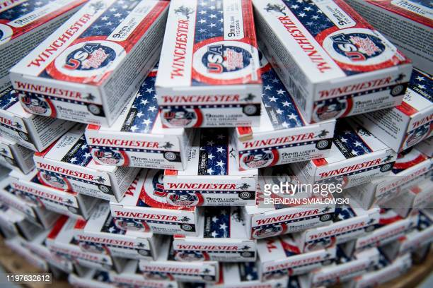 Ammunition is seen at Cherry's Outdoor World January 23 in Ottawa Ohio America is in flux Once stable jobs have become precarious mass media that...