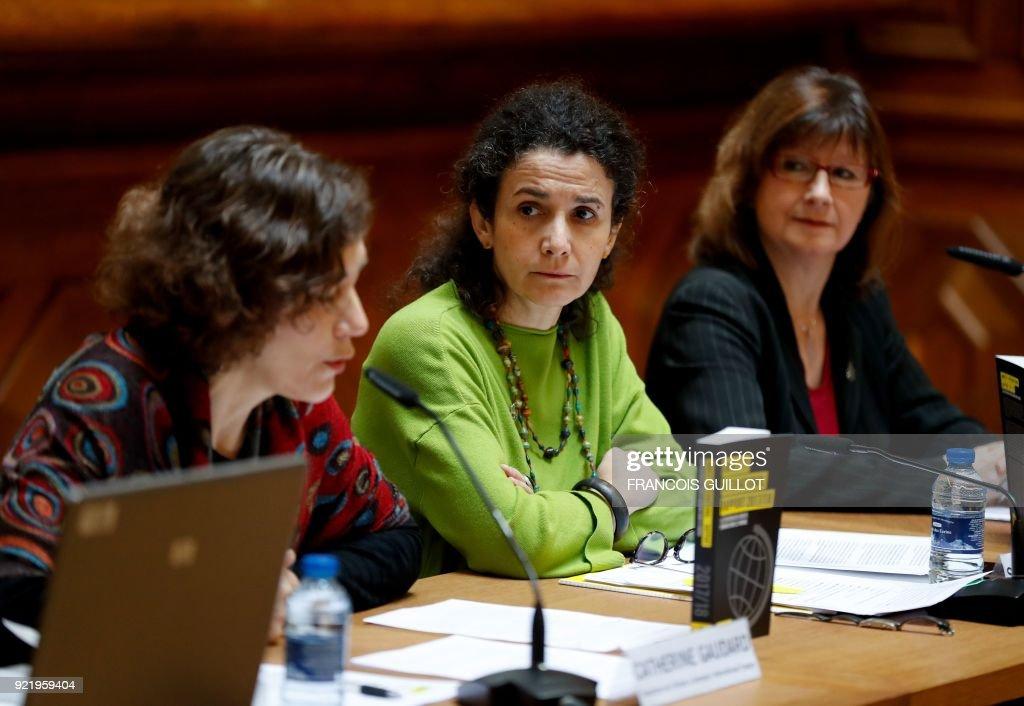 FRANCE-AMNESTY-INTERNATIONAL-RIGHTS : News Photo