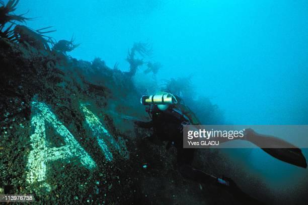Amoco Cadiz wreck in France on July 04 1993