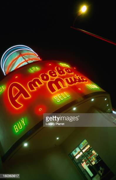 Amoeba Records on Sunset Boulevard.