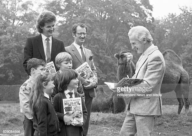 ��amon de Buitl��ar at the launch of his book 'Wildlife' at Dublin Zoo 1085524e1 Photographer Roseanna Lynch