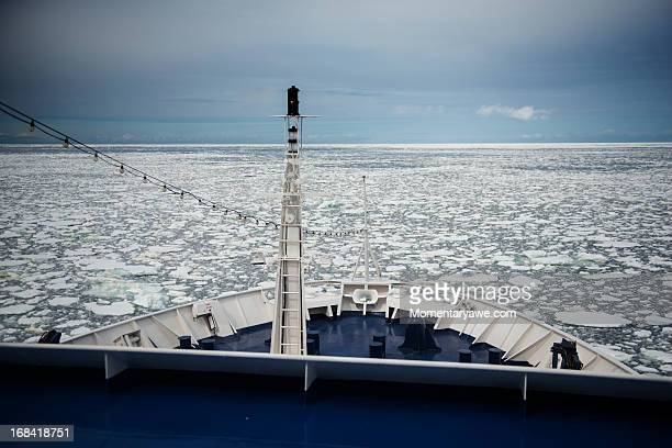 among the antarctic ice - drake passage stock photos and pictures