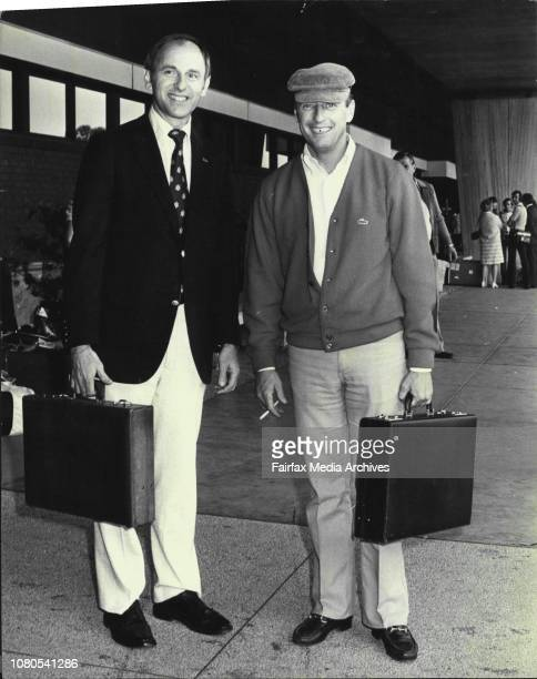 Among the arrivals at Sydney Airport yesterday were US Astronauts Alan Bean and Charles Conrad JrThey are in Sydney to attend the 67th World...