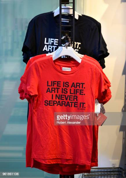 Among the items for sale in the gift shop at the Hirshhorn Museum and Sculpture Garden in Washington DC are Tshirts imprinted with a quote from...