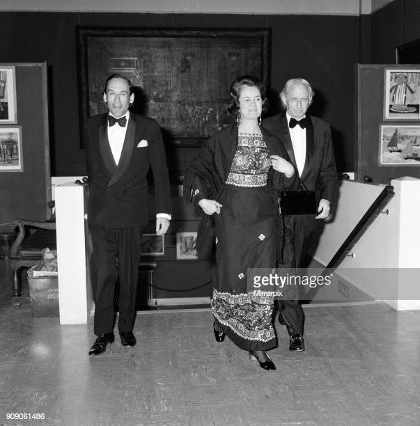 Amongst the guests attending the Recital For Two Pianos at Guildhall London are Liberal Leader Jeremy Thorpe his wife Marion the Countess of Harewood...