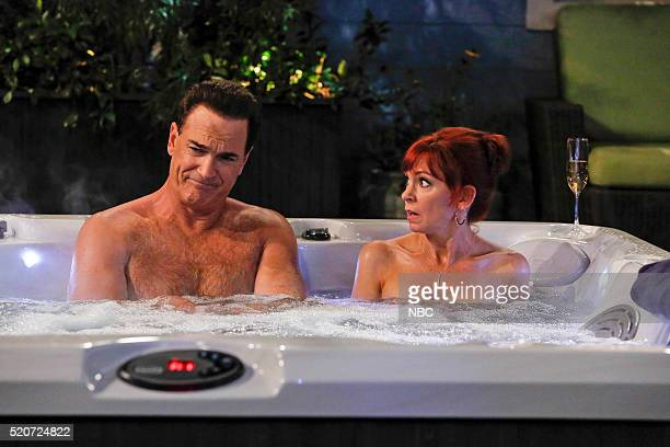 CROWDED 'Amongst the Waves' Episode 104 Pictured Patrick Warburton as Mike Carrie Preston as Martina