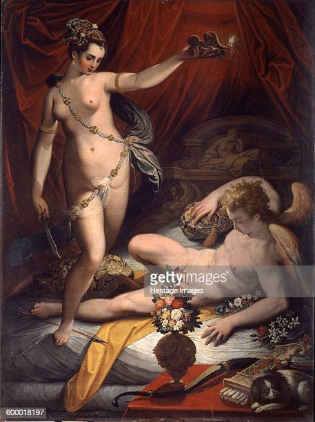 Amor and Psyche, 1589. Found in the collection of Galleria Borghese, Rome. Artist : Zucchi, Jacopo .