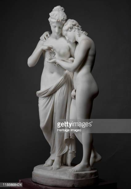 Amor and Psyche 1808 Found in the Collection of State Hermitage St Petersburg Artist Canova Antonio