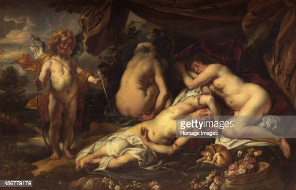 Amor and Psyche. Artist: Jordaens, Jacob