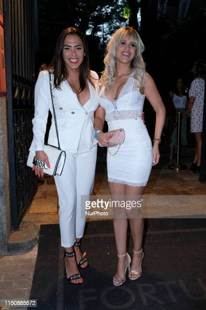 Amor Romeira and Ylenia Padilla attends quotZeppelin Production GHquot event in Madrid on Wednesday 19 June 2019 Spain