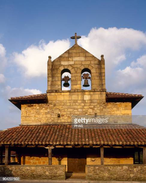 Amorebieta province of Vizcaya Basque Country Spain Hermitage of St Michael the Archangel