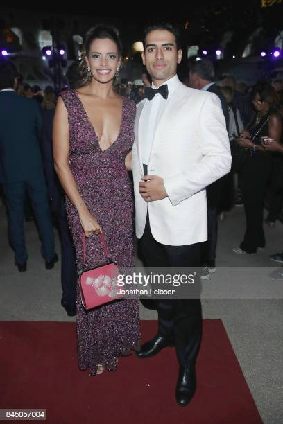 Amos Bocelli and guest attend at the Andrea Bocelli show as part of the 2017 Celebrity Fight Night in Italy Benefiting The Andrea Bocelli Foundation...