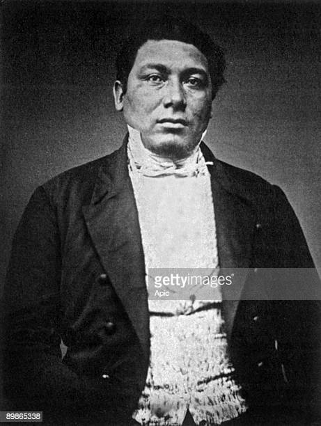 Amos Haskins Wampanoag whaling captain of the Aquinnah Band