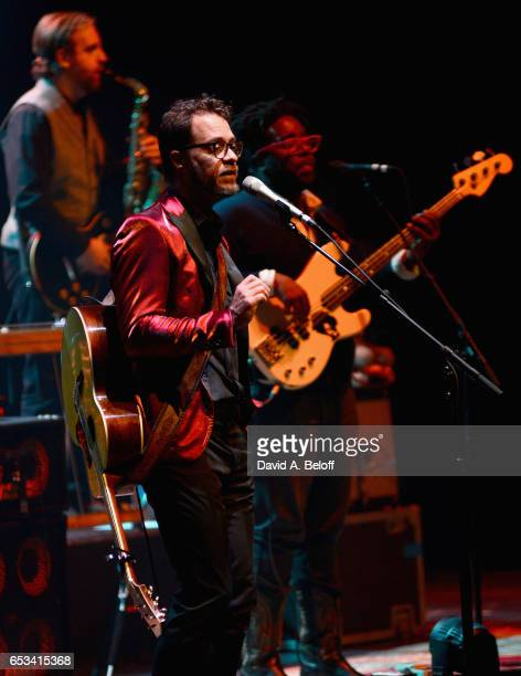 Amos Lee performs live at Sandler Center For The Performing Arts on March 14 2017 in Virginia Beach Virginia