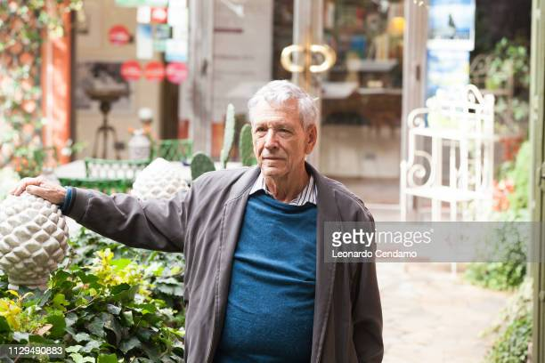 Amos Oz, Israeli writer, Erba, Italy, 15th October 2016.