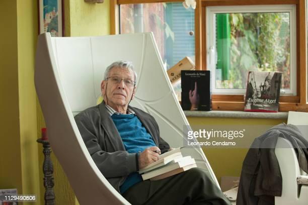Amos Oz, Israeli writer, Foggia, Italy, 15th October 2016.