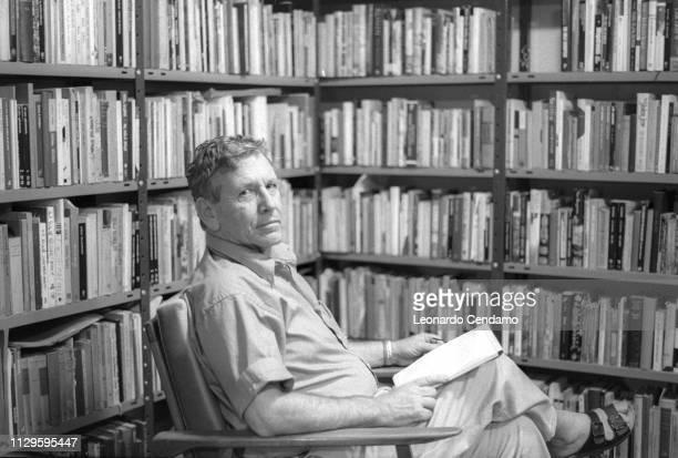 Amos Oz, Israeli writer, Mantova, Italy, .