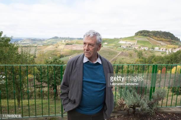 Amos Oz, Israeli writer, Milan, Italy, 15th October 2016.