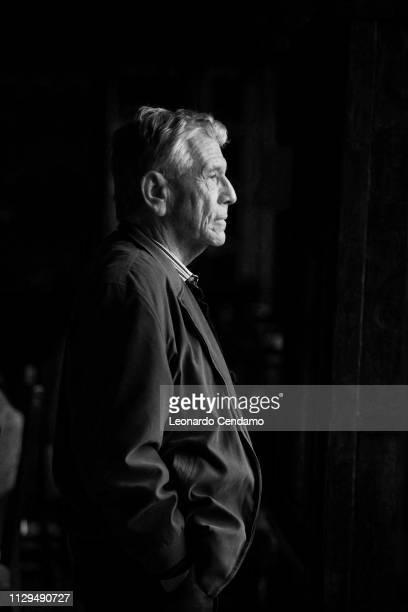 Amos Oz, Israeli writer, Monforte D'alba, Italy, 15th October 2016.