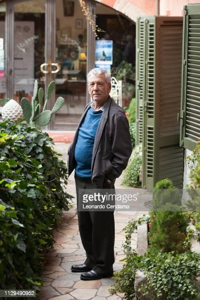 Amos Oz, Israeli writer, Otranto , Italy, 15th October 2016.
