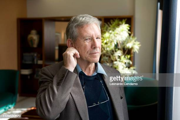 Amos Oz, Israeli, writer, portrait, journalist, professor, teacher, novelist, Milan, Italy, 18th September 2007.