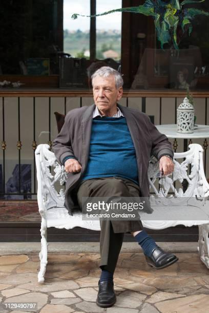Amos Oz, Israeli writer, Tourin, Italy, 15th October 2016.