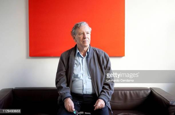 Amos Oz, writer, born In Jerusalem, lives in Arad, Mantova, Italy, 2010.