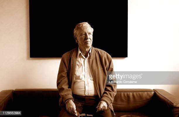 Amos Oz, writer, born In Jerusalem, lives in Arad, Milan, Italy, 2010.