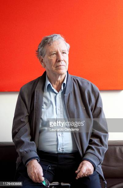 Amos Oz, writer, born In Jerusalem, lives in Arad, Milano, Italy, 2010.