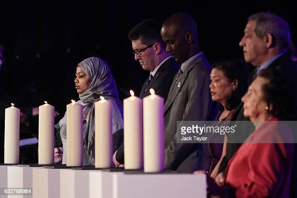 Amouna Abdelbarl Eisa Adam survivor of the Genocide in Darfur Safet Vukalic survivor of the Genocide in Bosnia Eric Eugene Murangwa survivor of the...