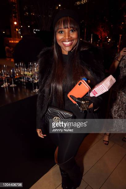 Amoy Pitters attends ABC's For Life New York Premiere at Alice Tully Hall Lincoln Center on February 05 2020 in New York City
