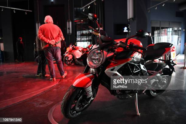 MV AGUSTA amp Forward Racing Team presentation of the official racing team and drivers Stefano Manzi and Dominique Aegerter Monday 11 February 2019...