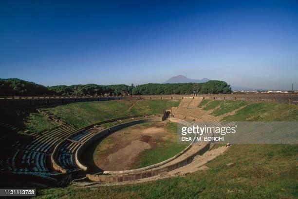 Amphitheatre, 70 BC, Pompeii , Campania, Italy, Roman civilization, 1st century BC.