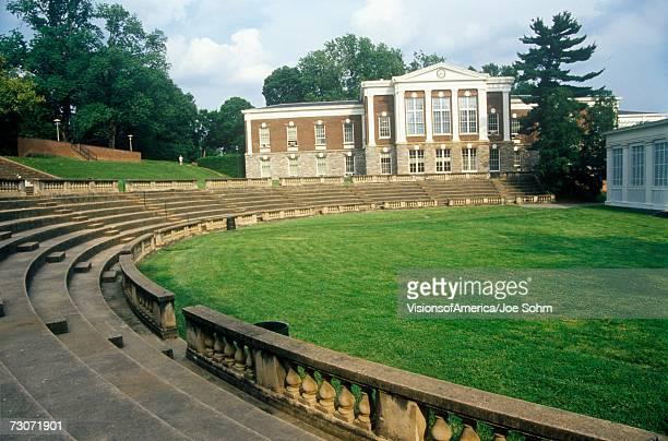 'Amphitheatre at University of Virginia, Charlottesville, VA'