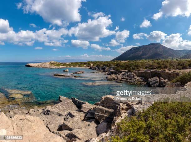 Amphitheatre Bay, Akamas Peninsula National Park, Neo Chorio, Cyprus, Cyprus, 30070133.