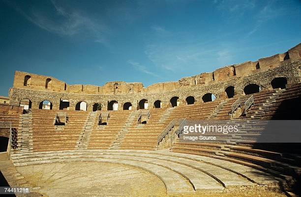 amphitheatre benevento italy - tradition stock pictures, royalty-free photos & images