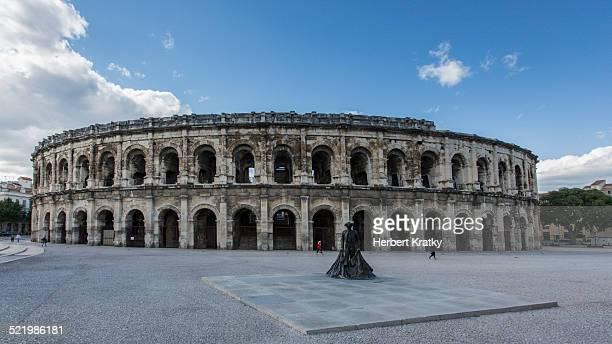 Amphitheatre, Nimes, Languedoc-Roussillon, France