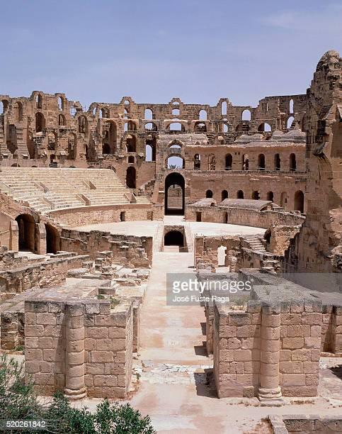 Amphitheatre of El Jem (Tunisia)