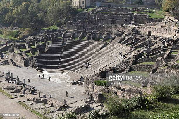 Amphitheatre of the Three Gauls in Lyon, France