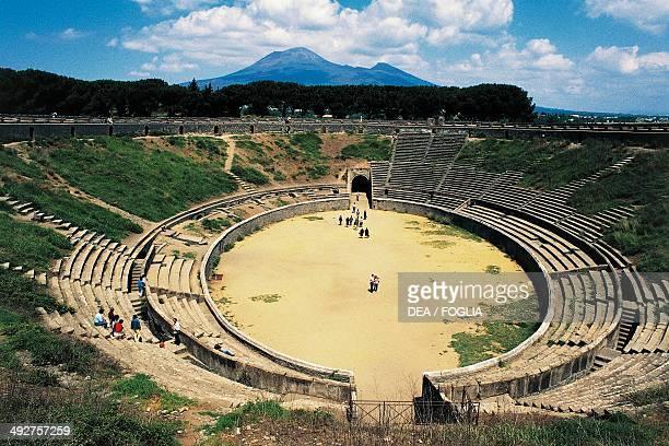 Amphitheatre Pompeii Campania Italy Roman civilization 1st century BC