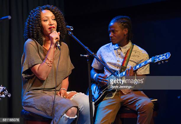 GRAMMY Amplifier winner Kirby Maurier performs at the GRAMMY Pro Songwriters Summit at The Uptown on May 12 2016 in Oakland California