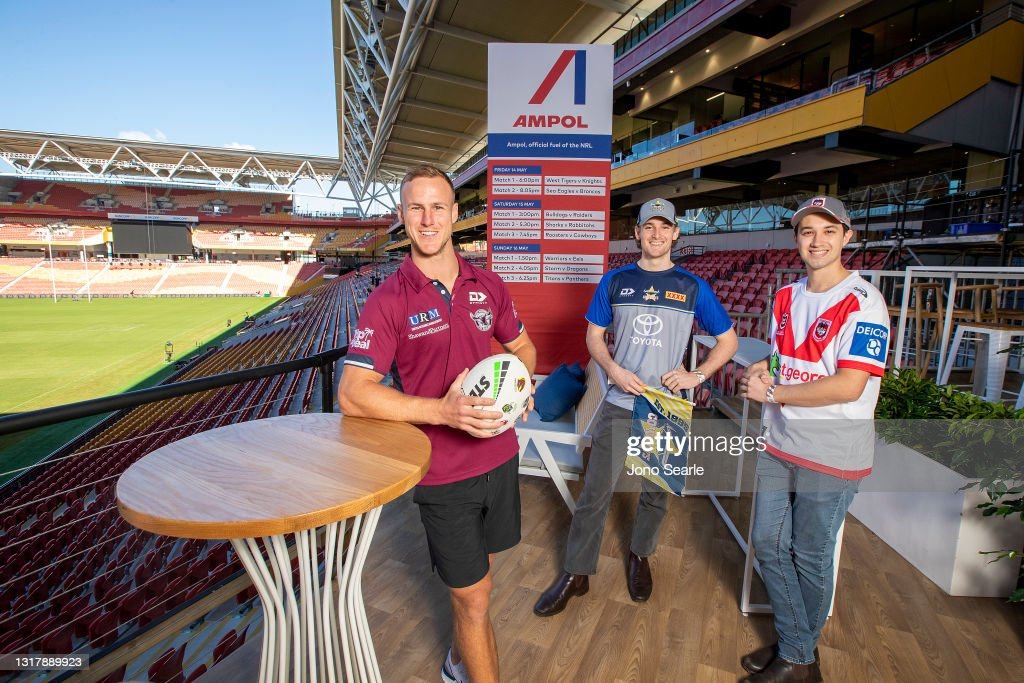 Daly Cherry-Evans Launches The Ampol Deck At Suncorp Stadium : News Photo
